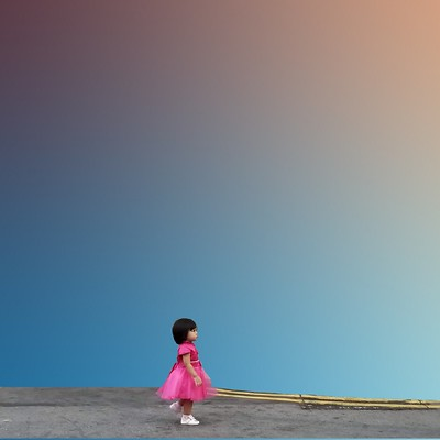 """""""Little Girl in a Big City"""" by Peter Addor"""